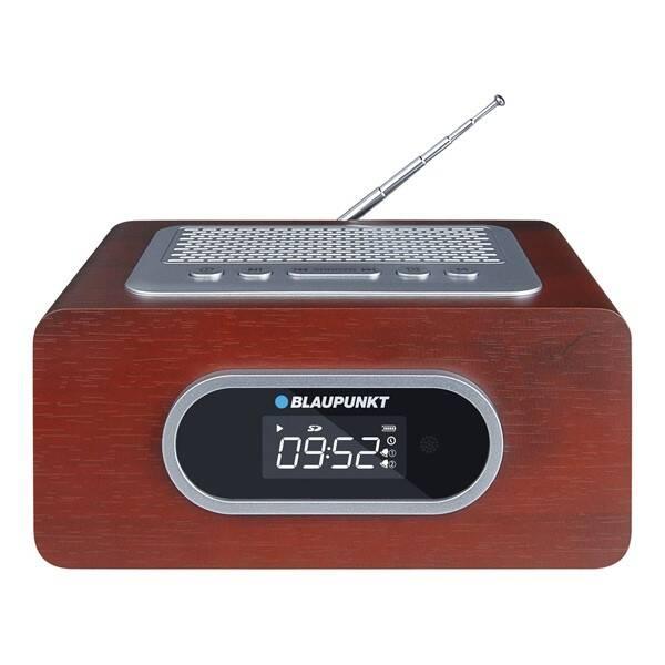 Radiopřijímač Blaupunkt PP6BR hnědý (vrácené zboží 8800450637)