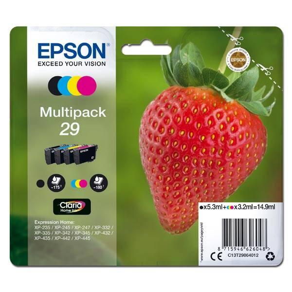 Inkoustová náplň Epson T29, 175/180 stran, CMYK (C13T29864012)
