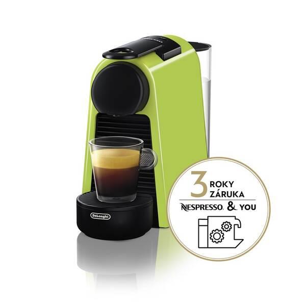 Espresso DeLonghi Nespresso Essenza Mini EN85.L zelené