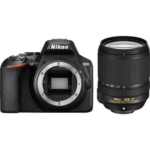 Digitální fotoaparát Nikon D3500 + 18-140 AF-S VR (VBA550K004) černý