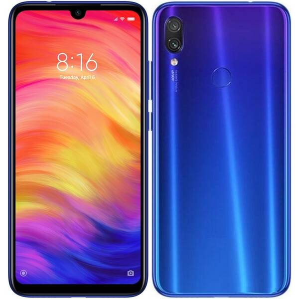 Mobilní telefon Xiaomi Redmi Note 7 64 GB (22865) modrý