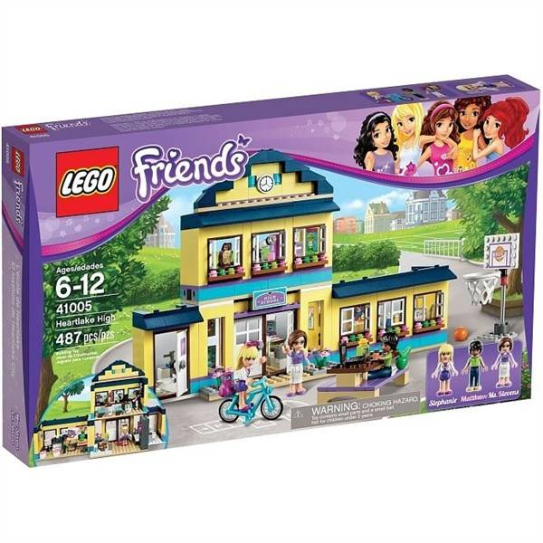 Stavebnice LEGO® Friends 41005 Střední škola v Heartlake