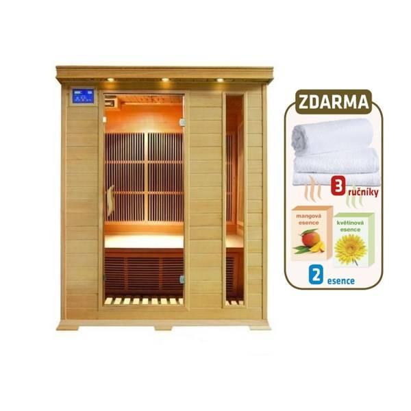 Infra sauna HealthLand DeLUXE 3003 CARBON