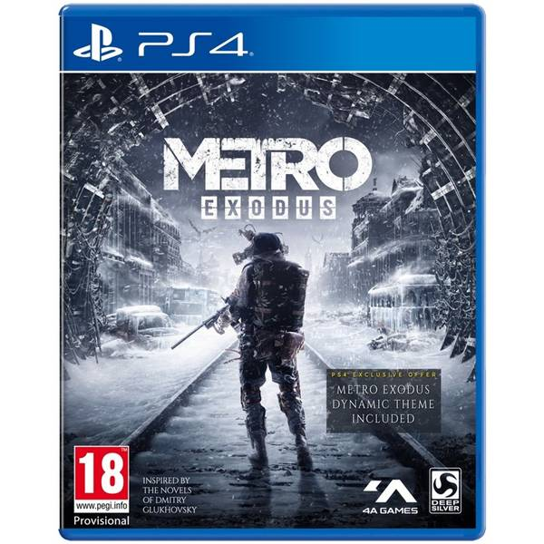 Hra Deep Silver PlayStation 4 Metro Exodus (4020628765545)