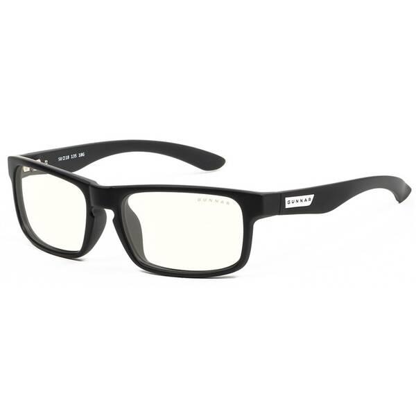 Herné okuliare GUNNAR Enigma Onyx, světlá skla (ENI-00109) čierne