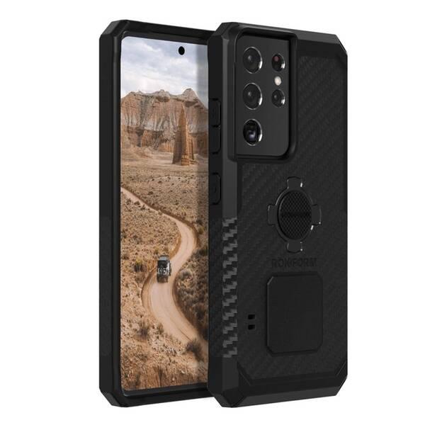 Kryt na mobil Rokform Rugged na Samsung Galaxy S21 Ultra 5G (RF308001P) čierny