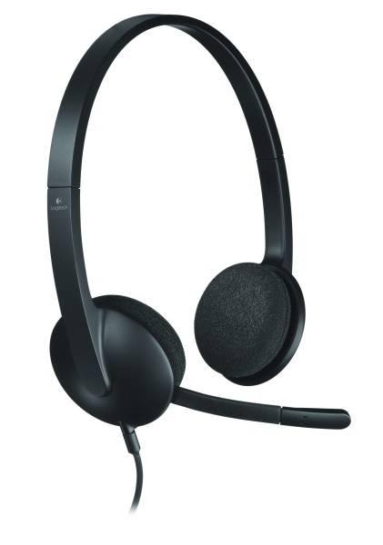 Headset Logitech H340 USB (981-000475) černý