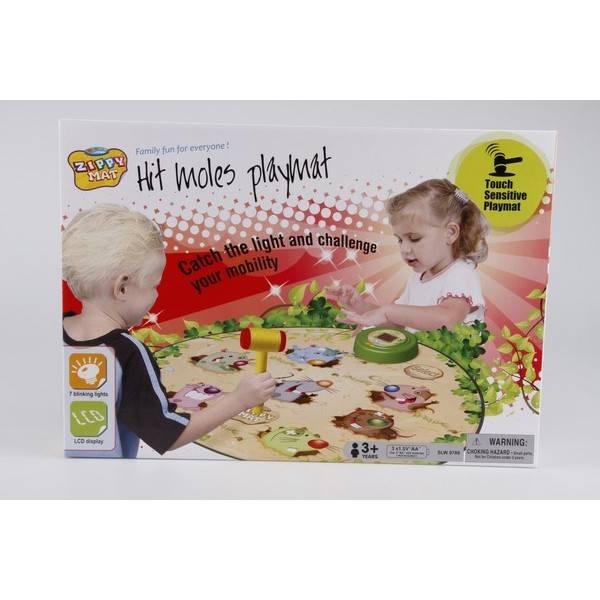 Hrací dotyková podložka Alltoys - chytni krtka