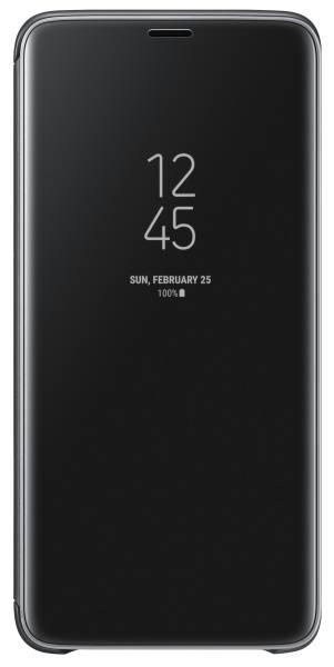 Púzdro na mobil flipové Samsung Clear View pro Galaxy S9+ (EF-ZG965CBEGWW) čierne