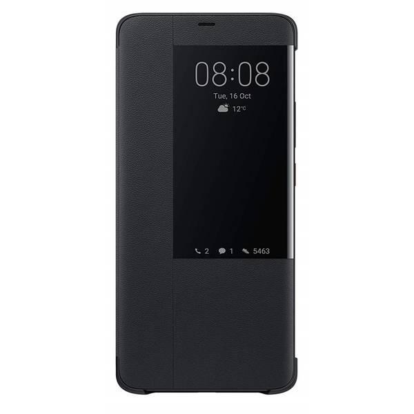 Pouzdro na mobil flipové Huawei View Cover pro Mate 20 Pro (51992696) černé (poškozený obal 8800239011)