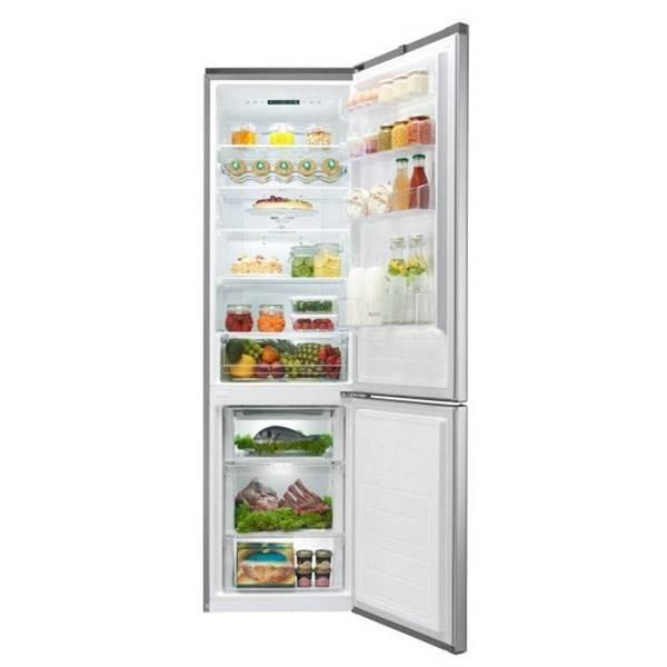 Kombinácia chladničky s mrazničkou LG GBB60PZEFS nerez