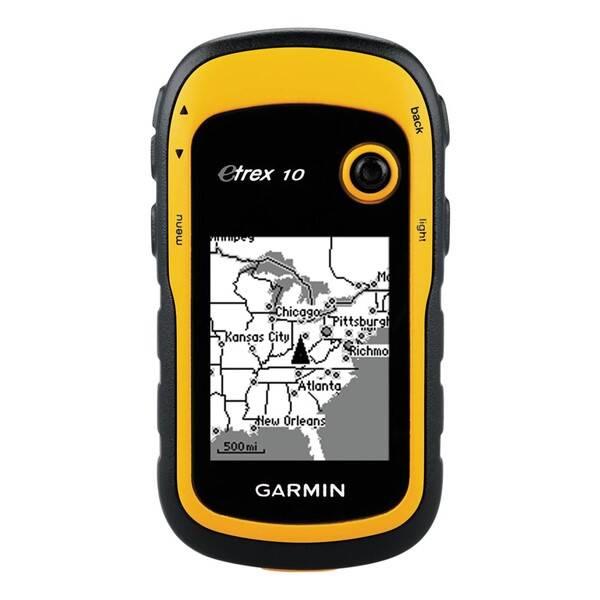 Navigačný systém GPS Garmin eTrex 10 čierna/žltá