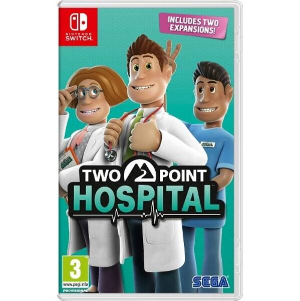 Hra Sega SWITCH Two Point Hospital (5055277035922)