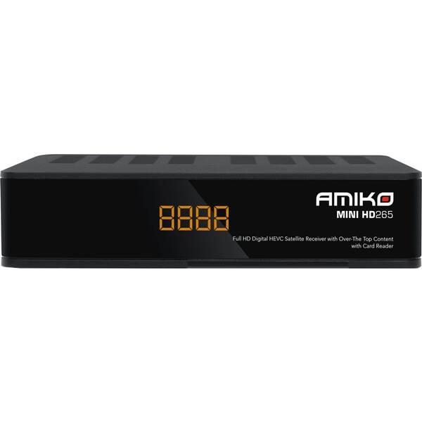 Satelitný prijímač Amiko MINI HD265 čierny