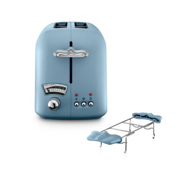 Opékač topinek DeLonghi CT021AZ modrý