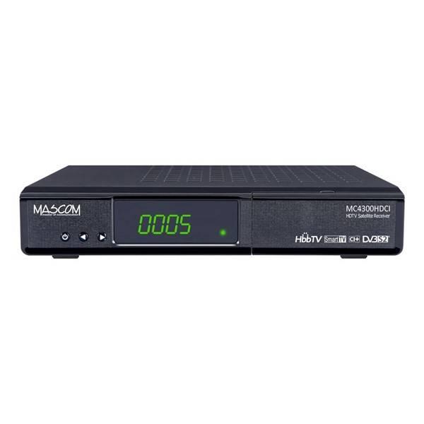 Satelitní přijímač Mascom MC4300HDCI-SMART HD černý