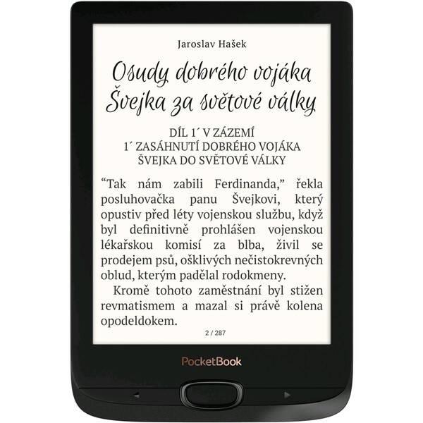 Čtečka e-knih Pocket Book 616 Basic Lux 2 (PB616W-H-WW) černá