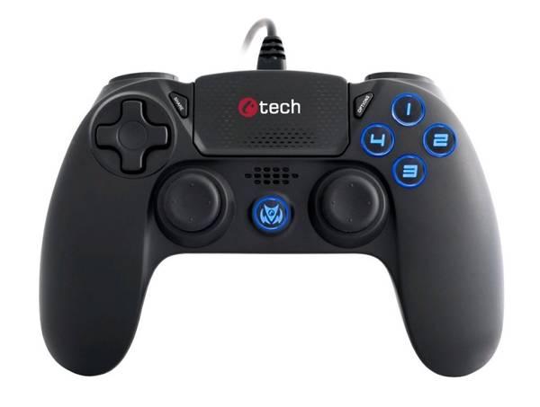 Gamepad C-Tech Themis pro PS4 (GP4P) černý