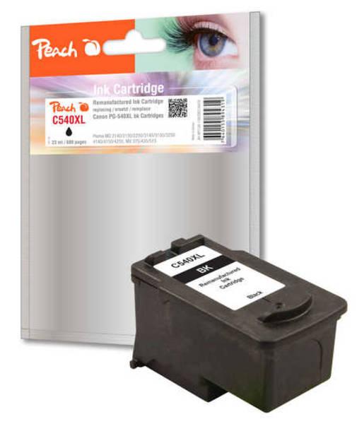 Inkoustová náplň Peach Canon PG-540XL, 680 stran, kompatibilní (316476) černá