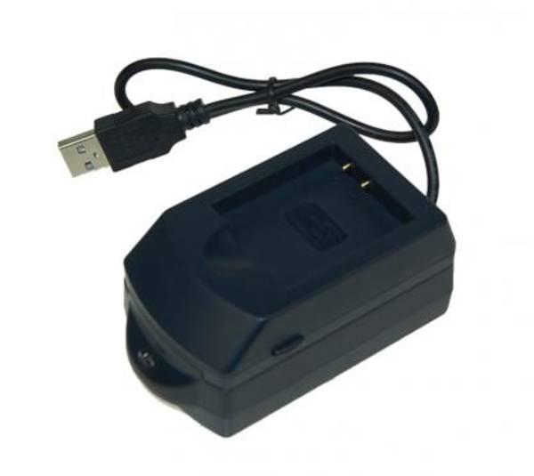 Nabíječka Avacom 152 pro Li-ion akumulátor Olympus Li-50B, Sony NP-BK1 (NADI-E152-USB) (poškozený obal 8800012749)