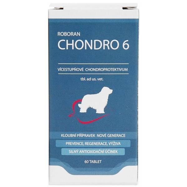 Tablety Roboran Chondro 6 pre psy 60 tbl