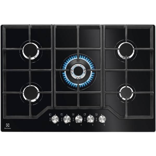 Plynová varná deska Electrolux Inspiration KGG7536K černá (poškozený obal 8800360110)