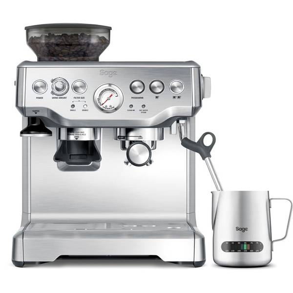 Espresso SAGE BES875BSS strieborné