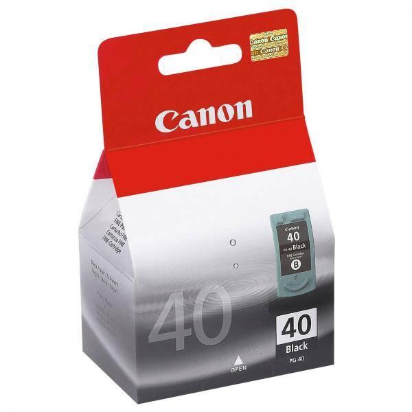 Inkoustová náplň Canon PG40, 615 stran, (0615B001) černá