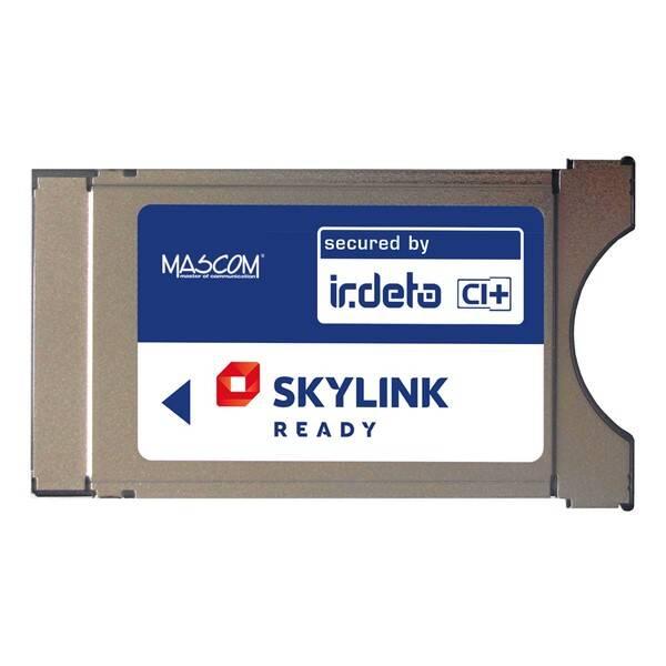 Modul Mascom Irdeto Skylink Ready CI+1.3 (CIM-SKY-IR CI+ MSC) strieborné