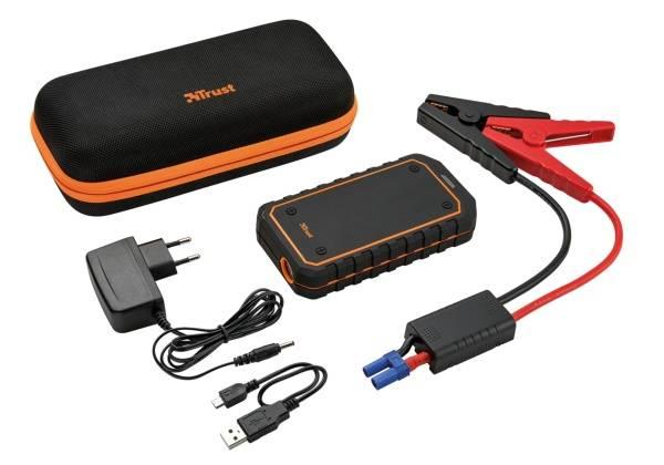 Powerbank Trust Car Jump Starter 10000mAh (20944) černý/oranžový