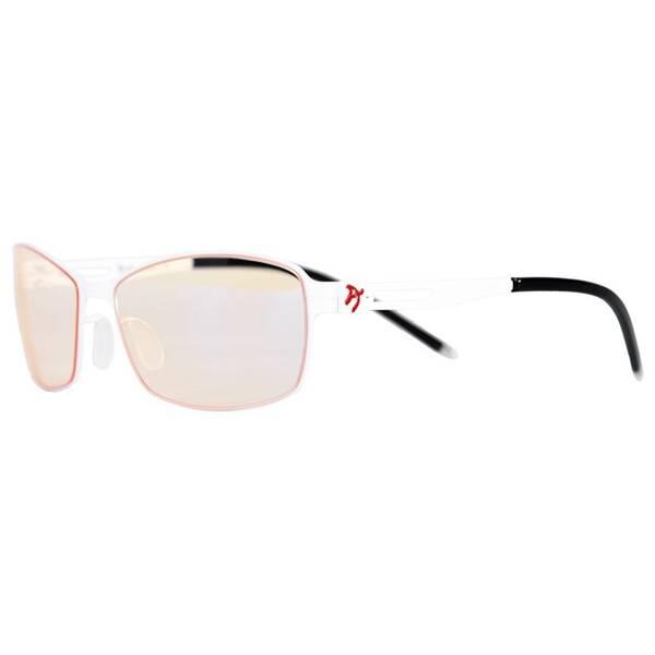 Herné okuliare Arozzi VISIONE VX-400, jantarová skla (VX400-1) čierne/biele
