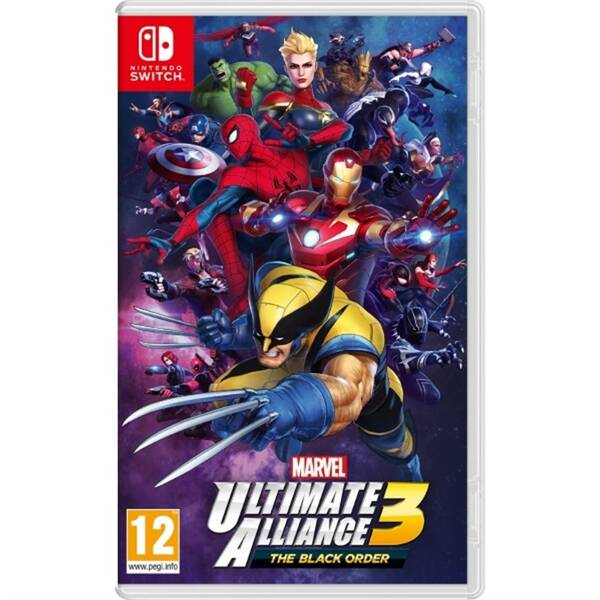 Hra Nintendo SWITCH Marvel Ultimate Alliance 3: The Black Order (NSS437)