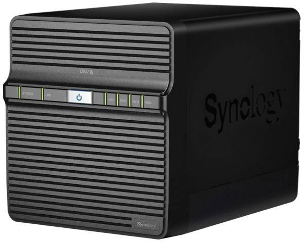 Sieťové úložište Synology DS418j (DS418j) čierne