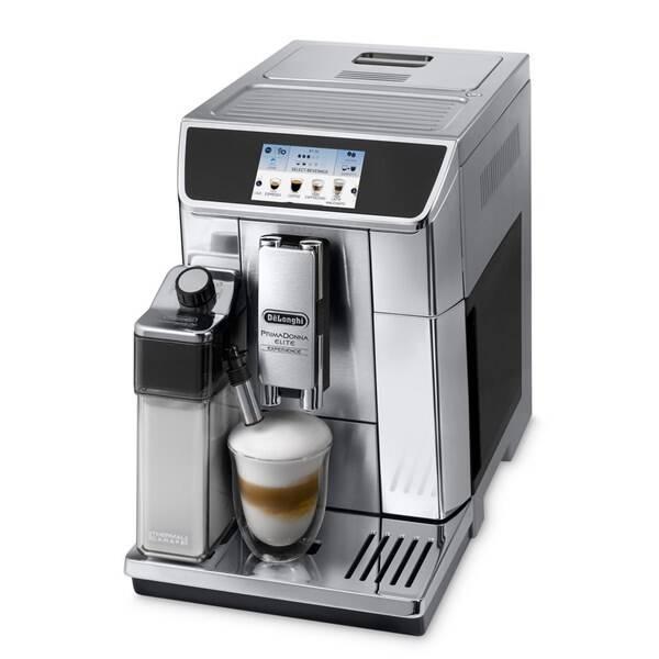 Espresso DeLonghi PrimaDonna Elite ECAM 650.85.MS strieborné