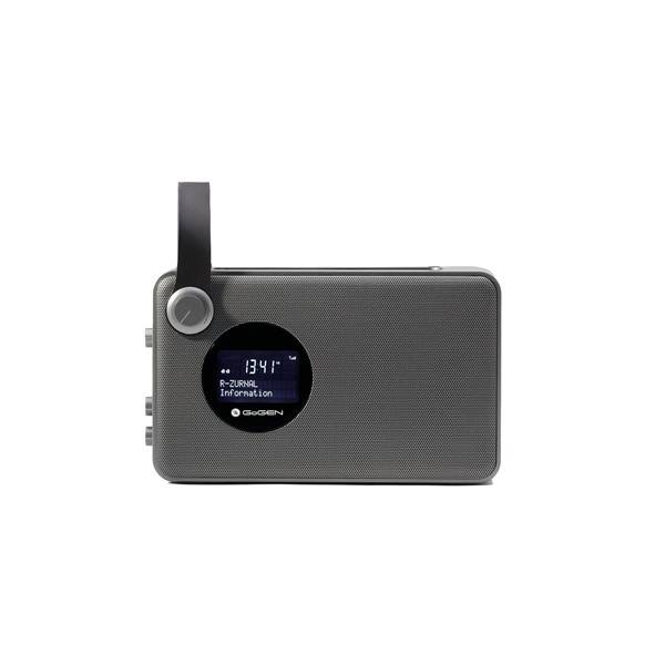 Radiopřijímač s DAB GoGEN DAB 1471 BT šedý (vrácené zboží 8800108718)
