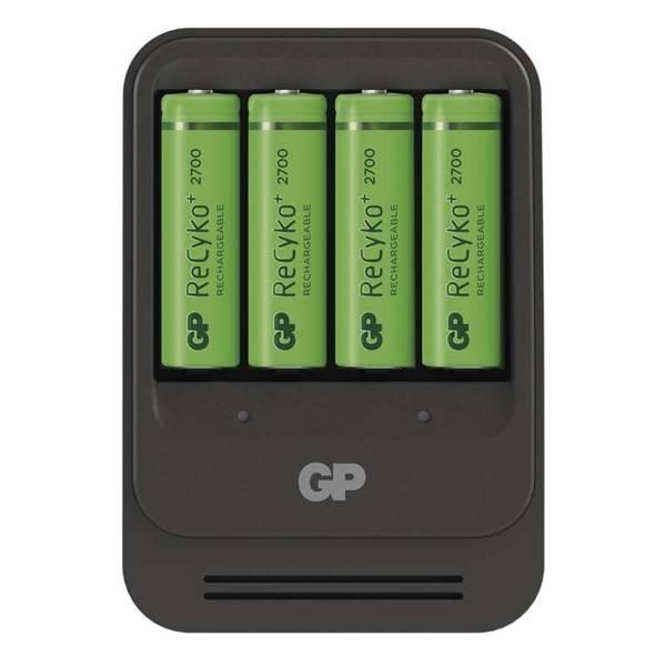 Nabíječka GP PB570 pro AA, AAA + 4x AA ReCyko+ (2700mAh) (1604157000) černá