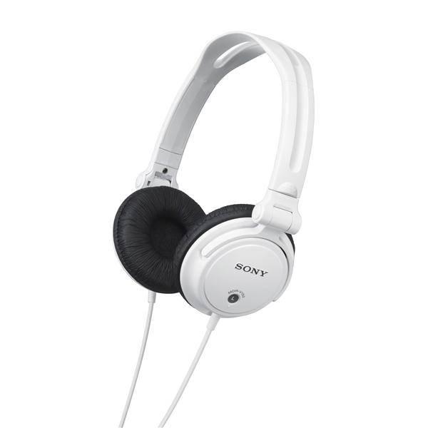 Sluchátka Sony MDRV150W.AE (MDRV150W.AE) bílá