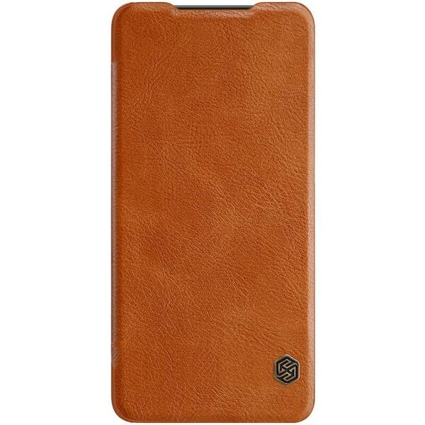 Pouzdro na mobil flipové Nillkin Qin Book pro Samsung Galaxy A50 hnědé
