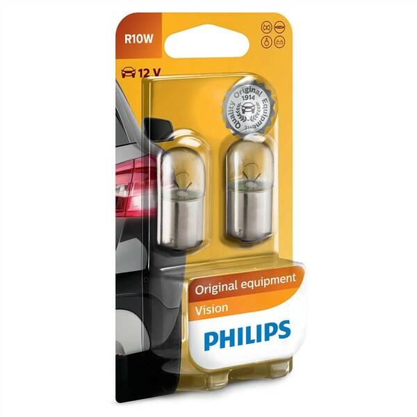 Autožárovka Philips Vision R10W, 2ks (12814B2)
