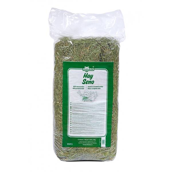 Krmivo Limara Seno 150 l / 5 kg