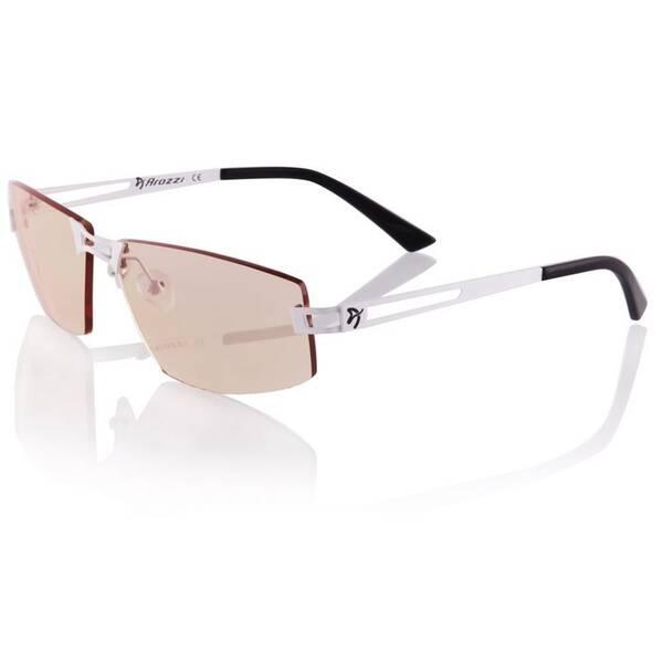 Herné okuliare Arozzi VISIONE VX-600, jantarová skla (VX600-2) čierne/biele