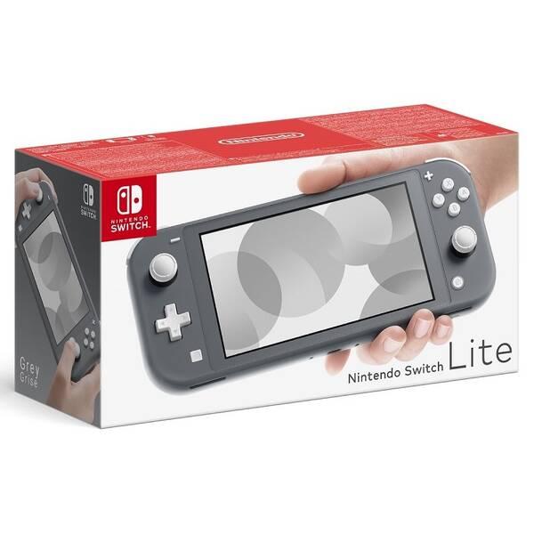 Herná konzola Nintendo Switch Lite (NSH100) sivá