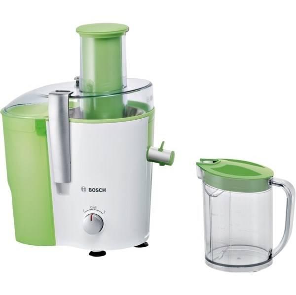 Odšťavňovač Bosch MES25G0 bílý/zelený