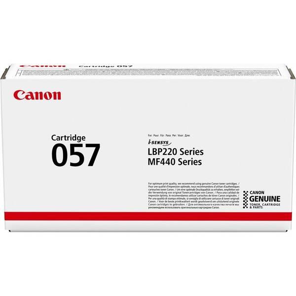 Toner Canon CRG 057, 3100 stran (3009C002) černý