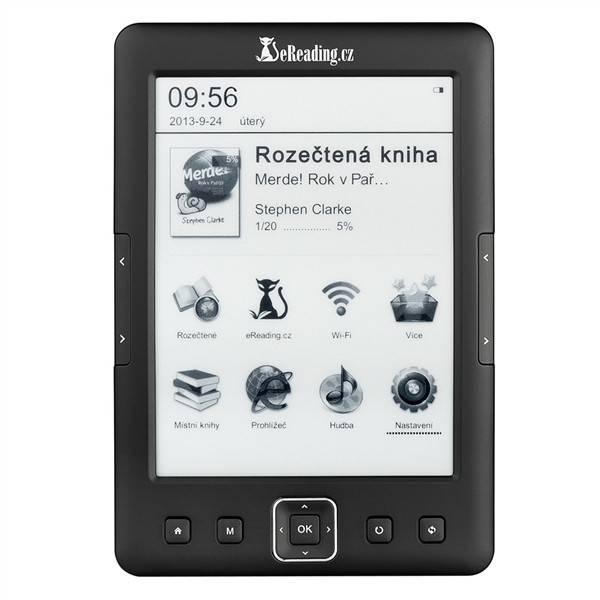 Čtečka e-knih eReading.cz START 2 černá