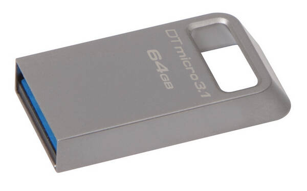 USB Flash Kingston DataTraveler Micro 3.1 64GB (DTMC3/64GB) kovový