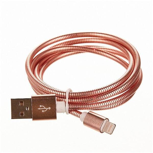 Kabel CellFish USB/Lightning, 1m (CELLKOVPINKAPP) růžový
