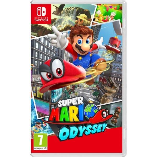 Hra Nintendo SWITCH Super Mario Odyssey (NSS670)