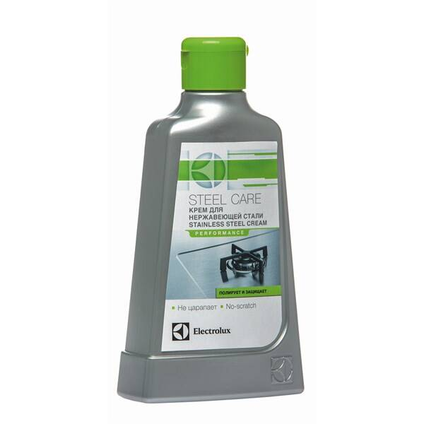 Čistiaci prípravok Electrolux Čistič nerezových povrchů spotřebičů 250ml