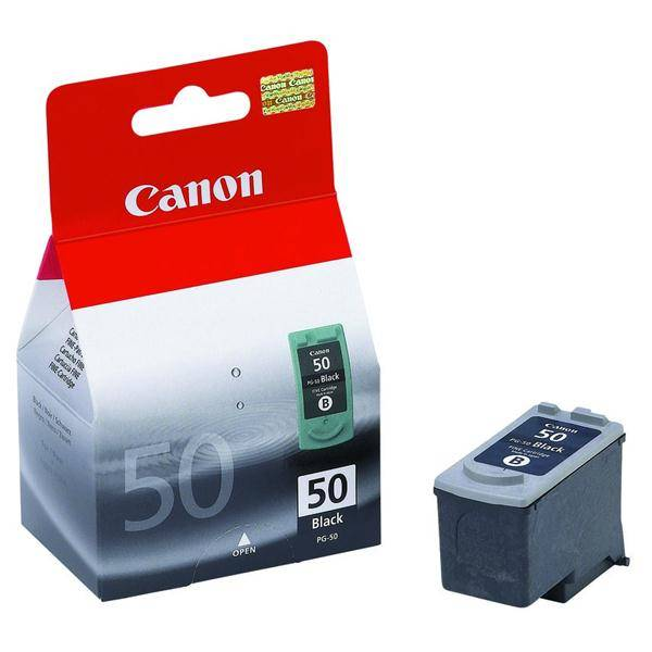 Inkoustová náplň Canon PG50, 750 stran, (0616B001) černá